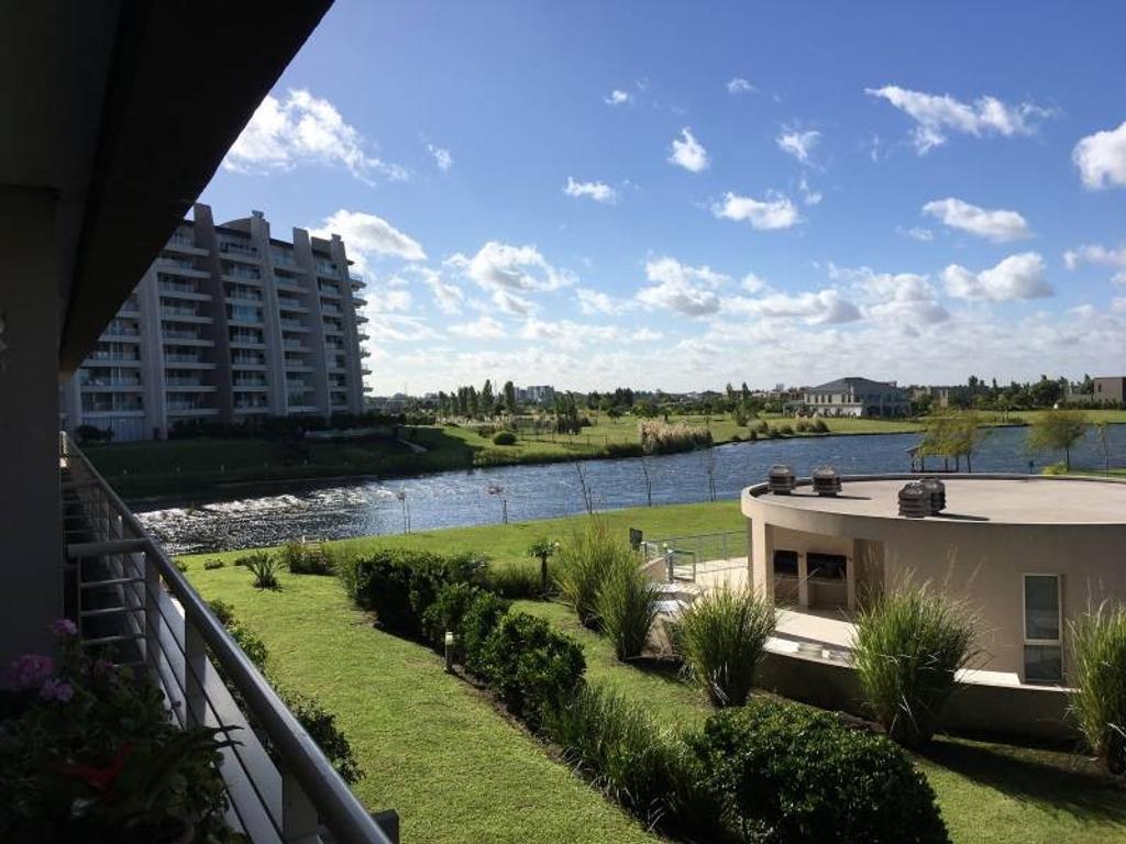 Impecable 3 ambientes en venta con vista al Lago Central  APTO CRÉDITO!!