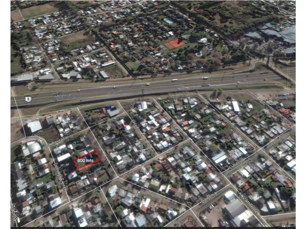 Venta de Lote en Barrio Abierto Calle Lubo zona Pilar, Gran Bs.As., Argentina,