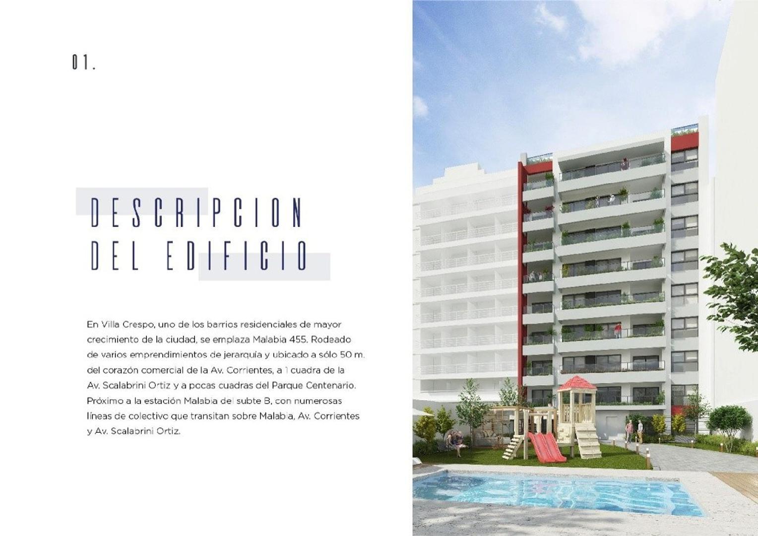 Departamento - 49 m² | 1 dormitorio | A estrenar