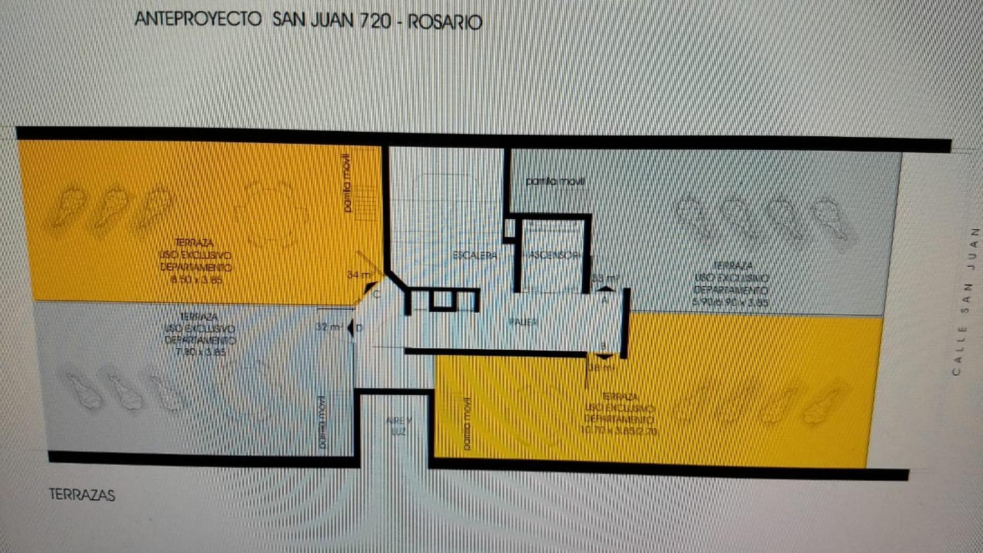 Departamento de dos dormitorios entrega marzo 2021