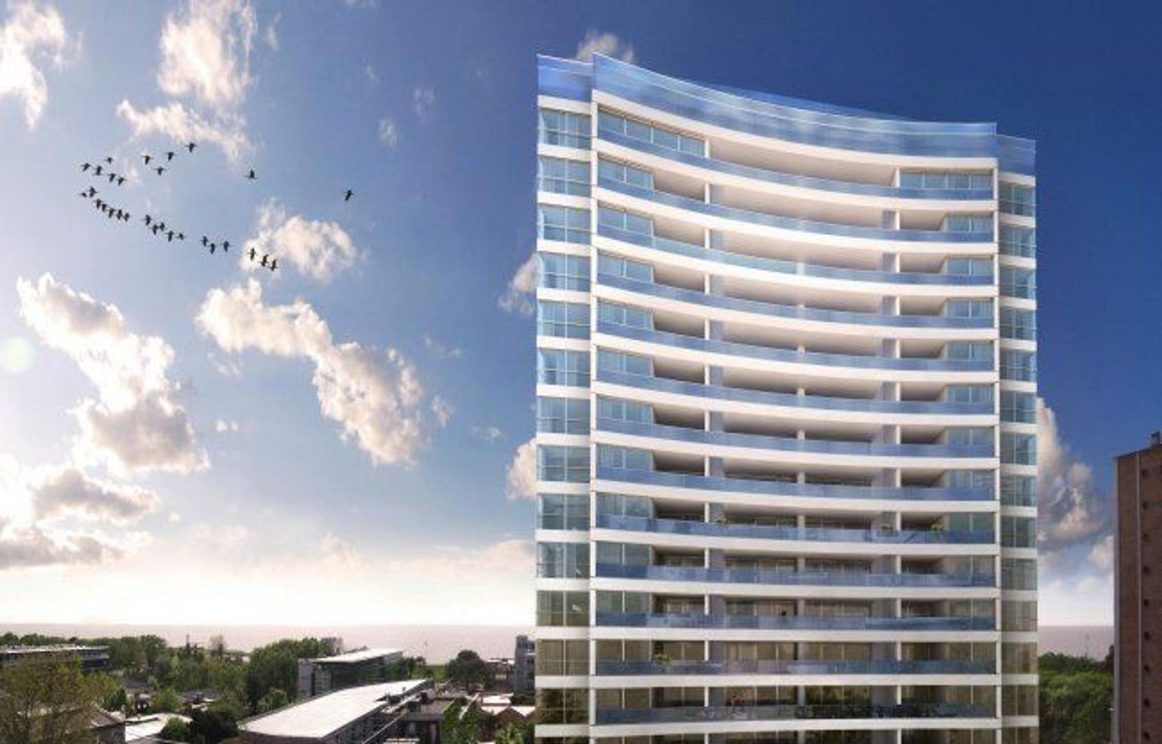 Excelente departamento 4 amb  con vista directa al rio, edificio con amenities