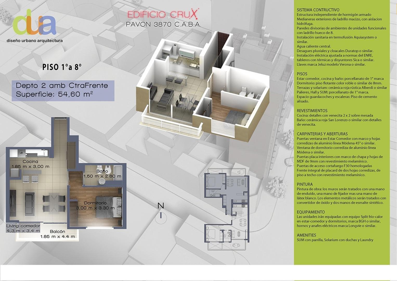 Departamento en Venta en Pavon 3800 - Boedo - Buscainmueble