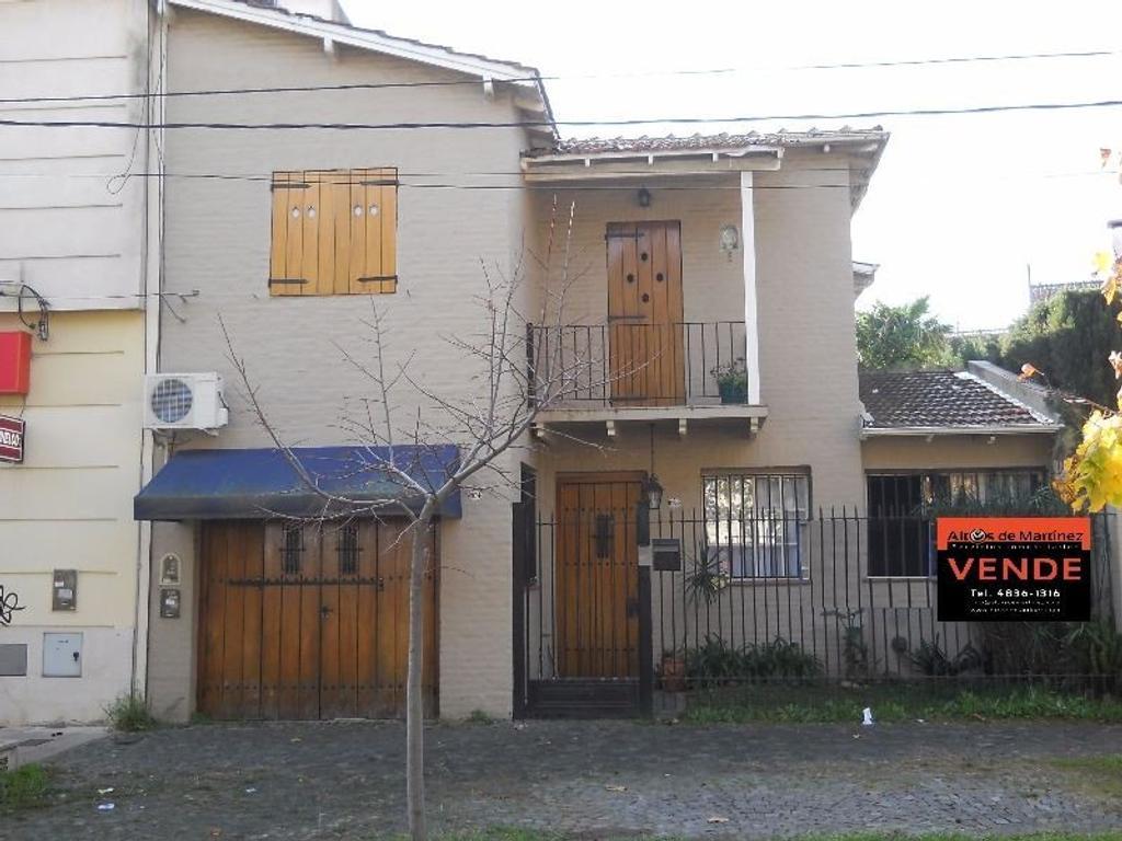 Venta Excelente casa apto profesional 5 ambientes con patio y pileta en Martínez