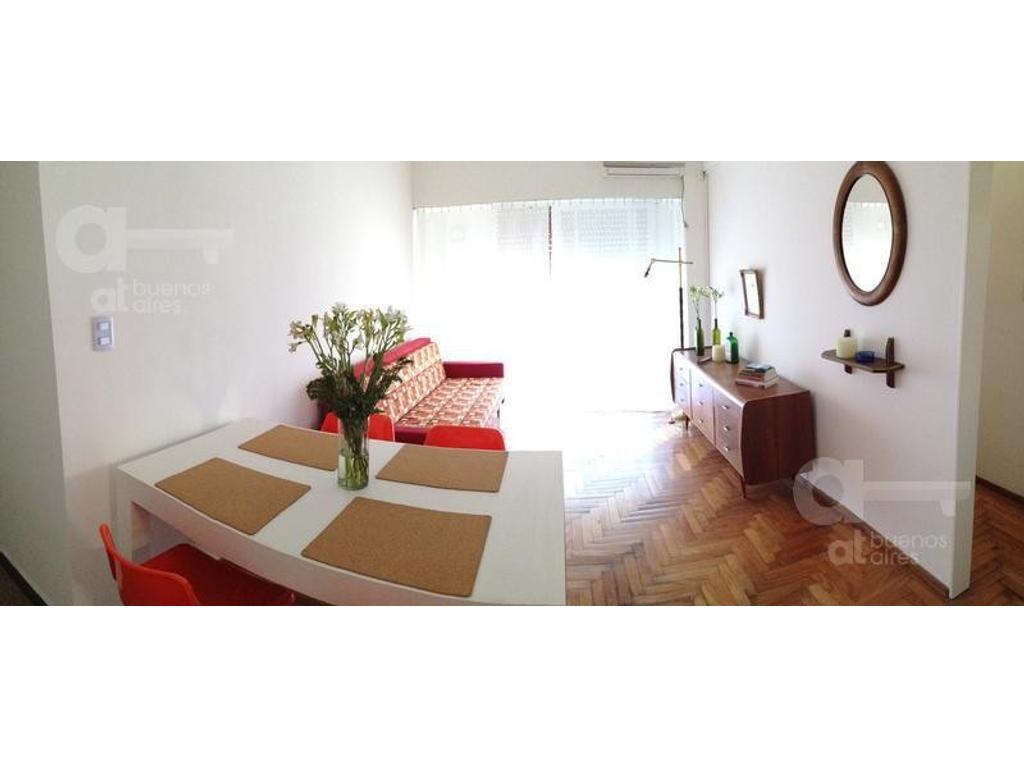 Palermo, 2 Ambientes, Alquiler temporario sin garantía