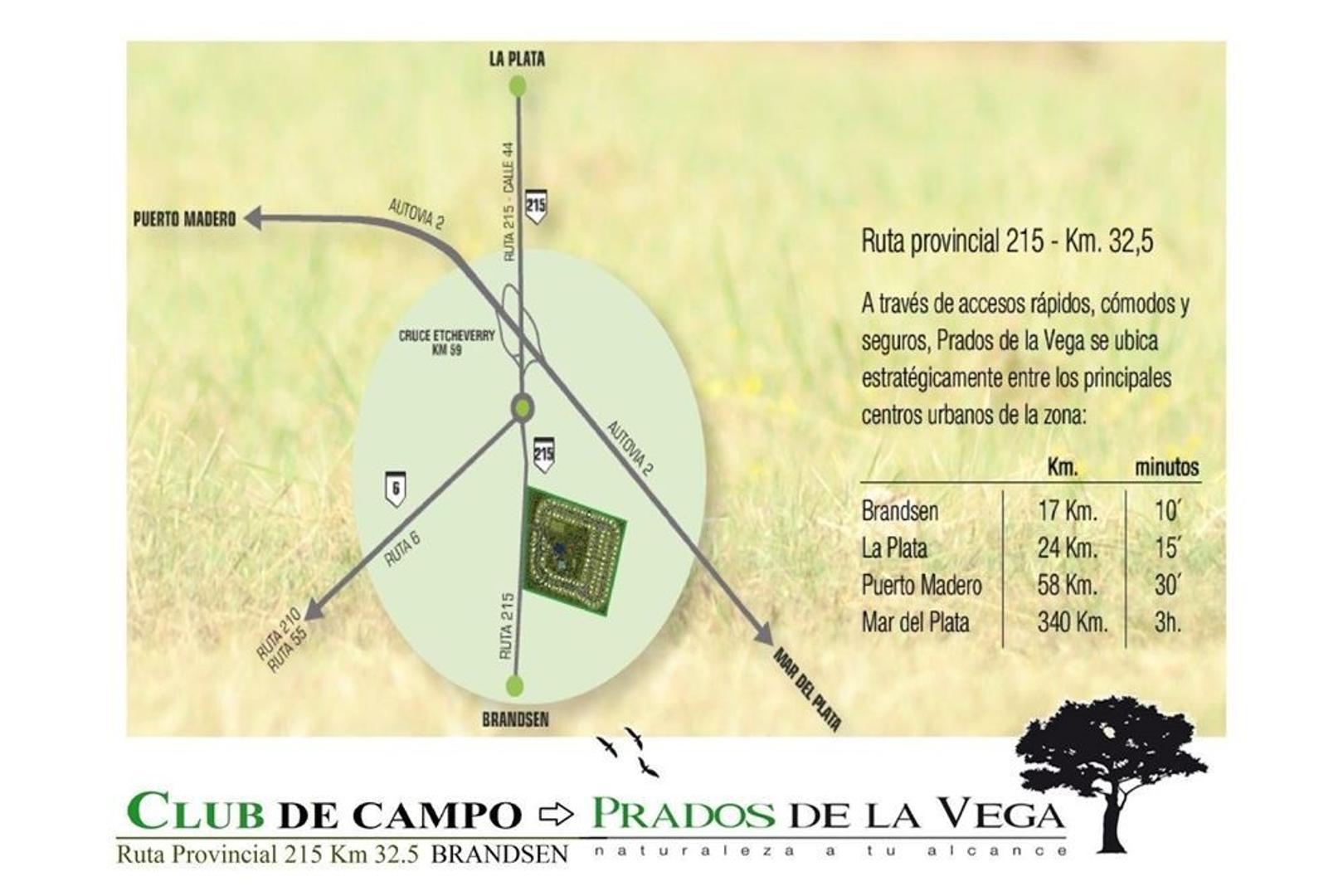 Terreno En Venta En Prados De La Vega Lote 119 Coronel Brandsen