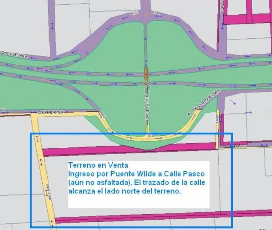 Única fracción 120.000 m2 sobre Autopista Ros-Cba y Puente calle Wilde