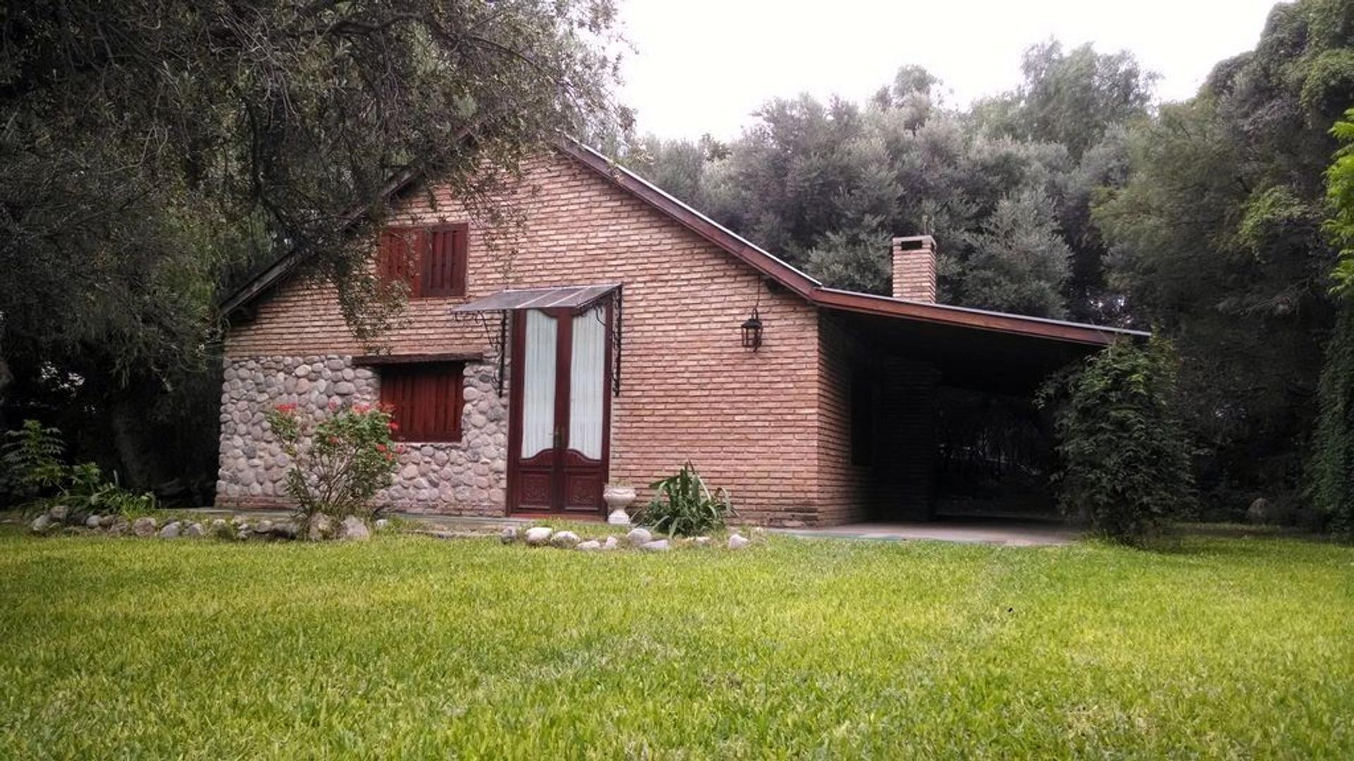 Inmobiliaria ALOJA – PROPIEDAD FRENTE AL RÍO SAN MARCOS – EN VENTA – San Marcos Sierras