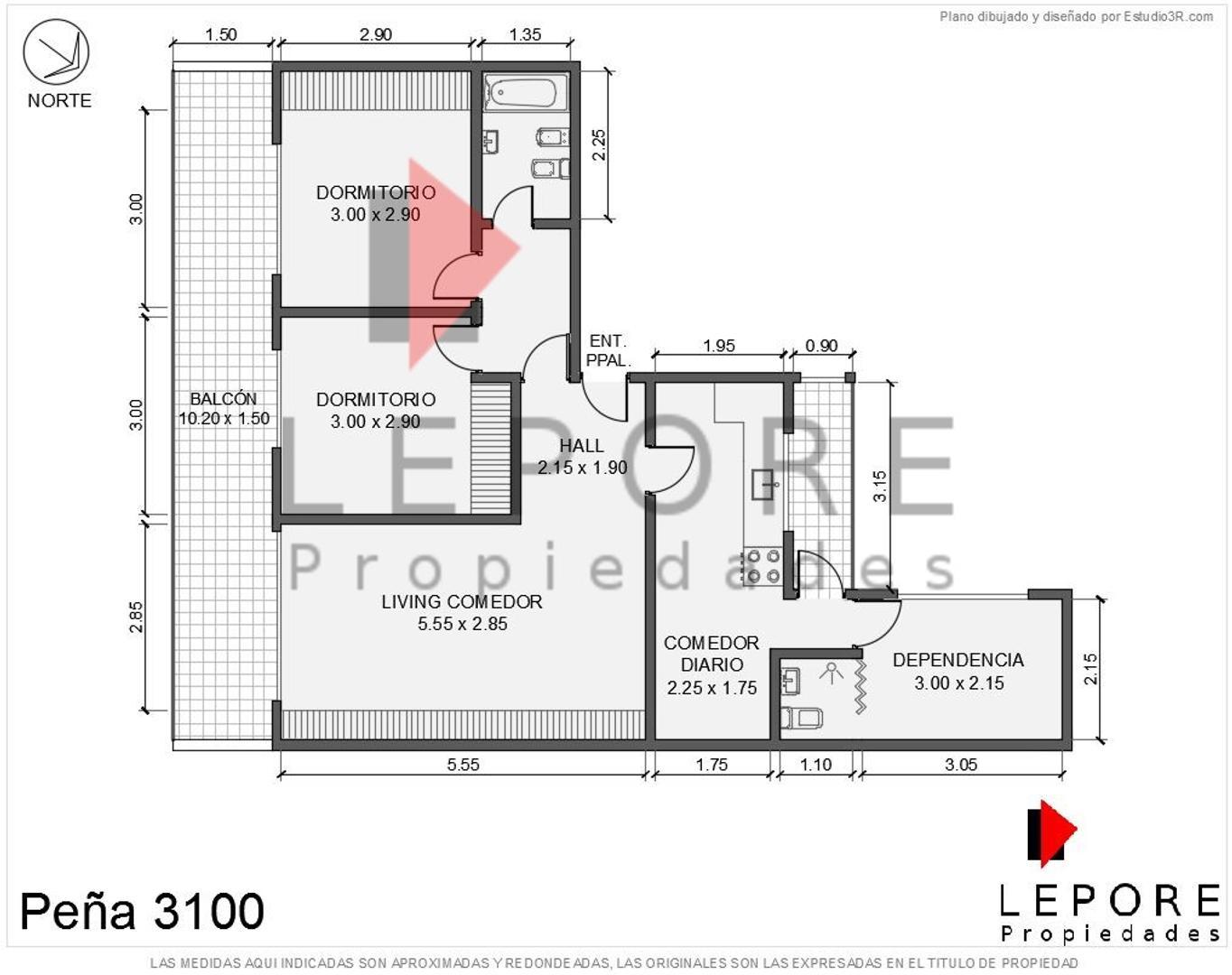 3 ambientes en venta LEPORE - Foto 28