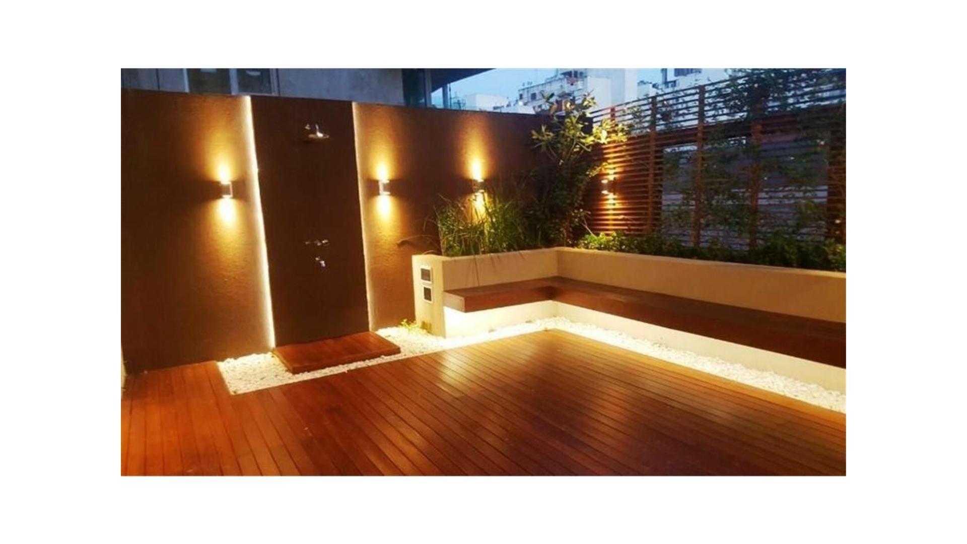 IMPECABLE 3 ambientes con balcón TERRAZA (+/- 40m2) y COCHERA