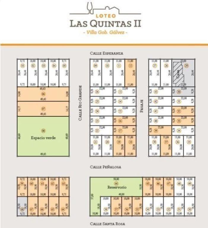 LOTEO LAS QUINTAS II - INMEJORABLE UBICACION Y SERVICIOS