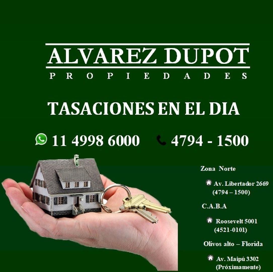 XINTEL(ALV-ALV-3506) Lote - Venta - Argentina, Vicente López - AV. DEL LIBERTADOR 2800