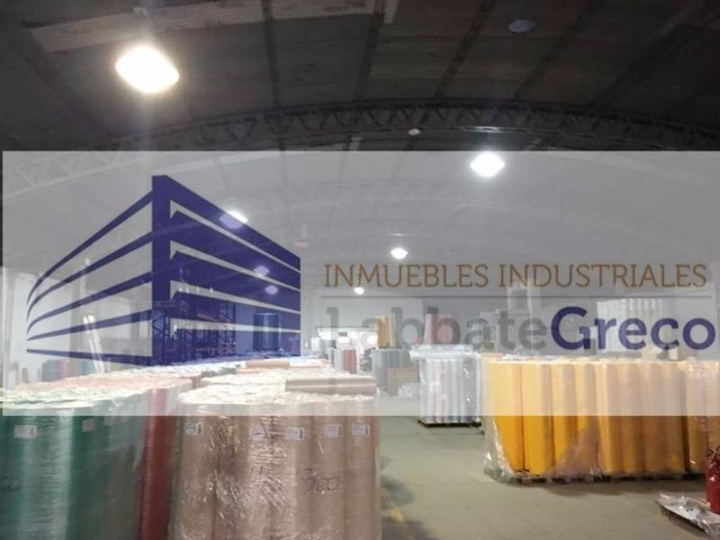 Inmueble dentro de predio industrial en Vicente Lopez - 3100m2