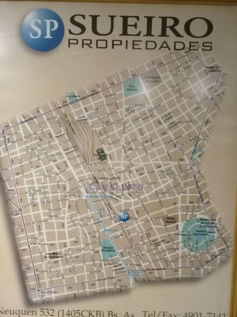 INVERSORES, TERRENO CABALLITO, INM. UBICACION APTO DE ACUERDO A CODIGO 1400MTS
