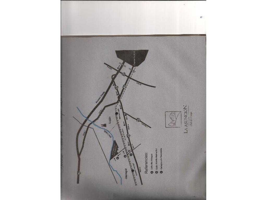 TERRENO 2000 M2 - LA ASUNCION CLUB DE CAMPO - LUJAN