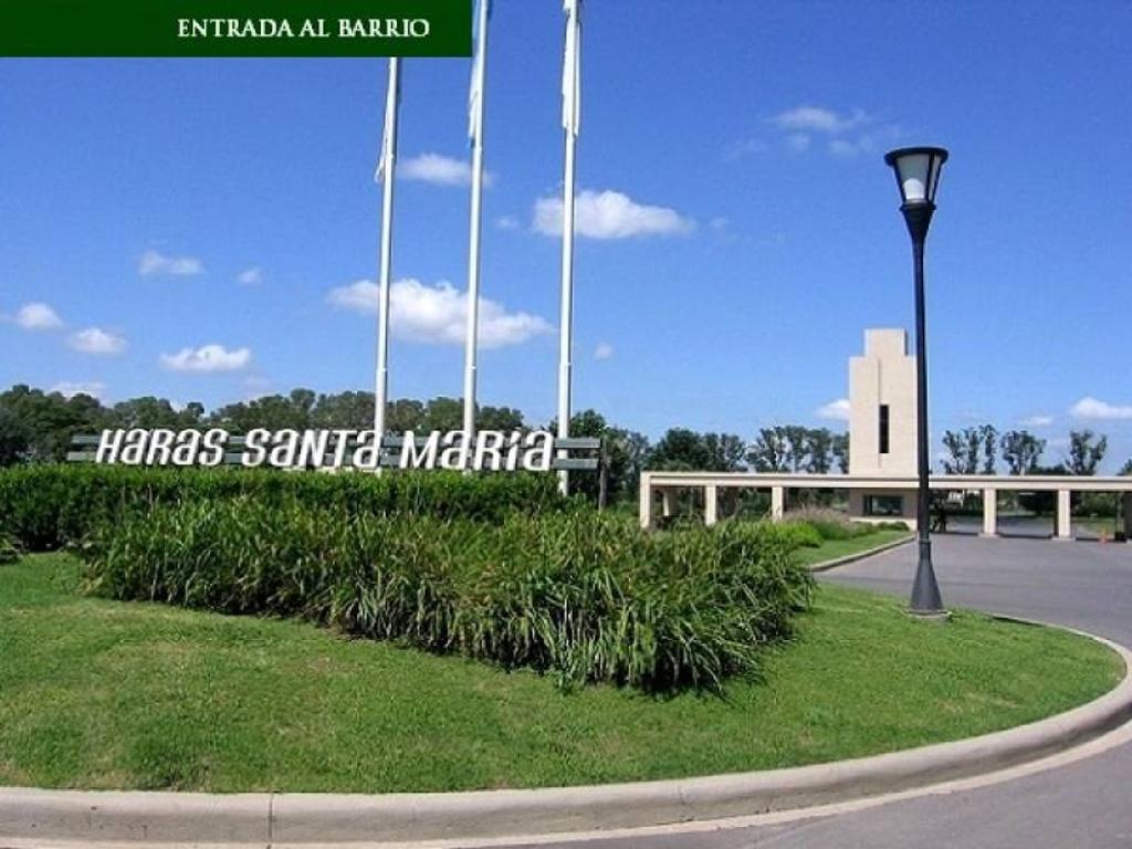 OPORTUNIDAD !! Lote en venta en Haras Santa María, Escobar.