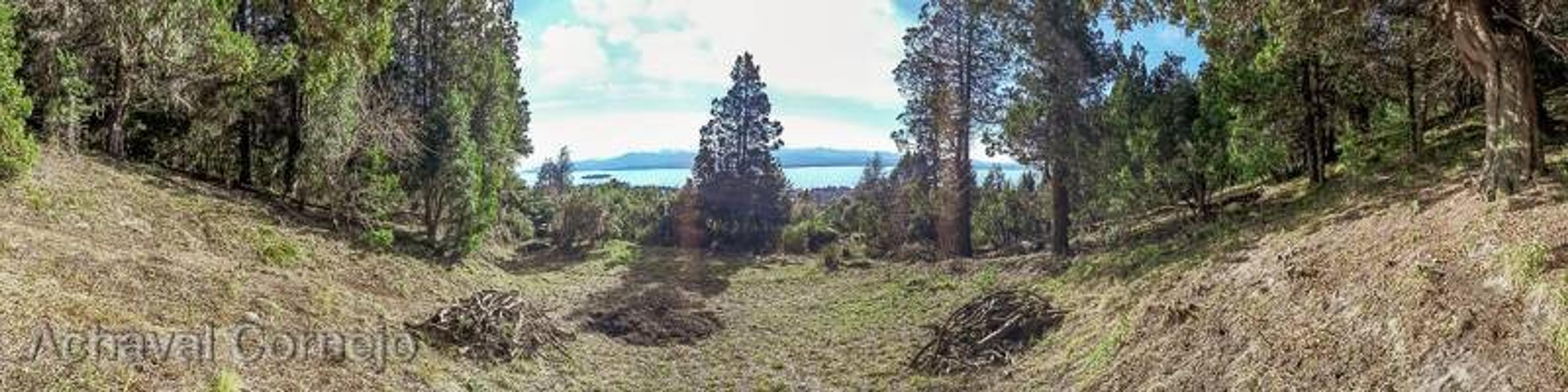 Excelente Terreno con vista al Lago Nahuel Huapi en Barrio Parque El Faldeo