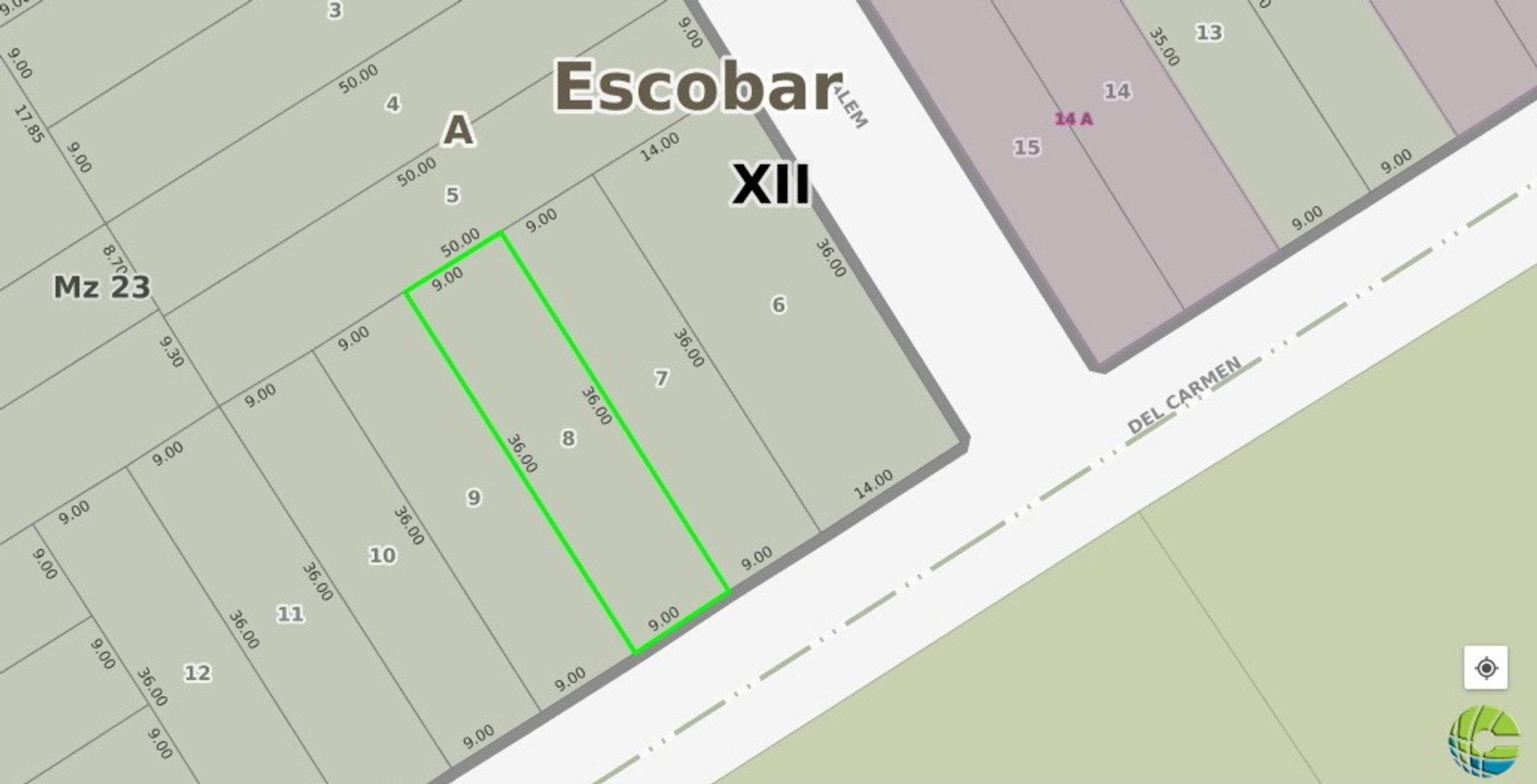 Excelente Lote en Escobar