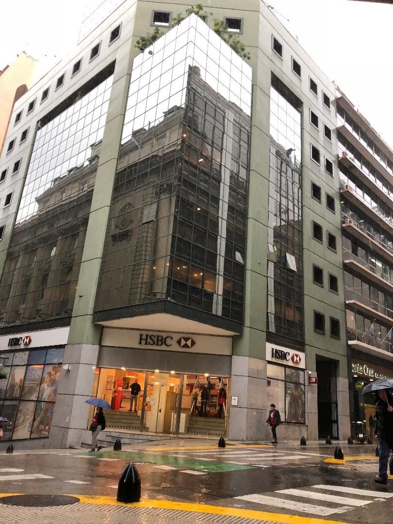 Excelente oficina en semipiso con cochera frente a Bolsa de Comercio