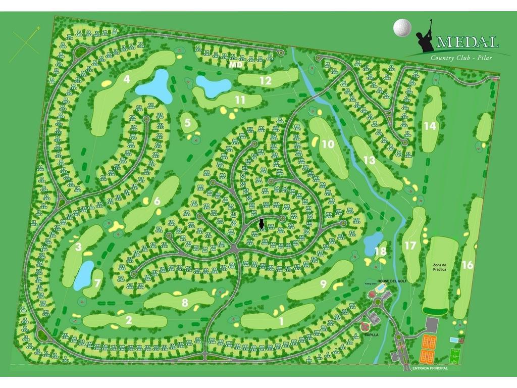 vendo terreno Ctry Golf Club Medal, excelente inversión