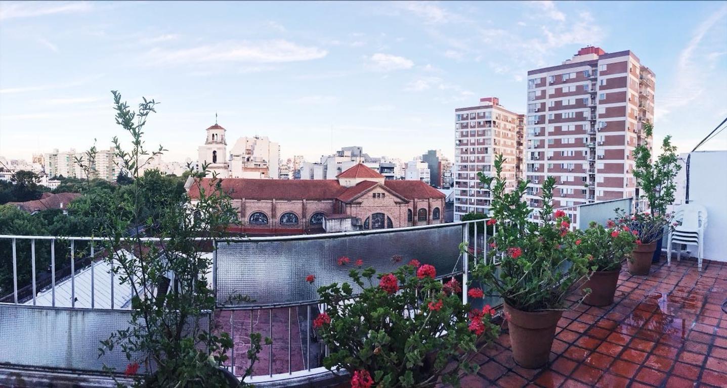 3 ambientes c/balcon terraza - Caballito