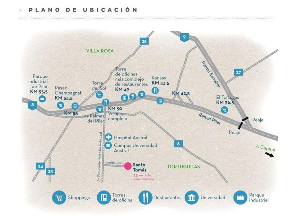 Terreno Lote  en Venta ubicado en Santo Tomas, Pilar y Alrededores - PIL3603_LP117327_1