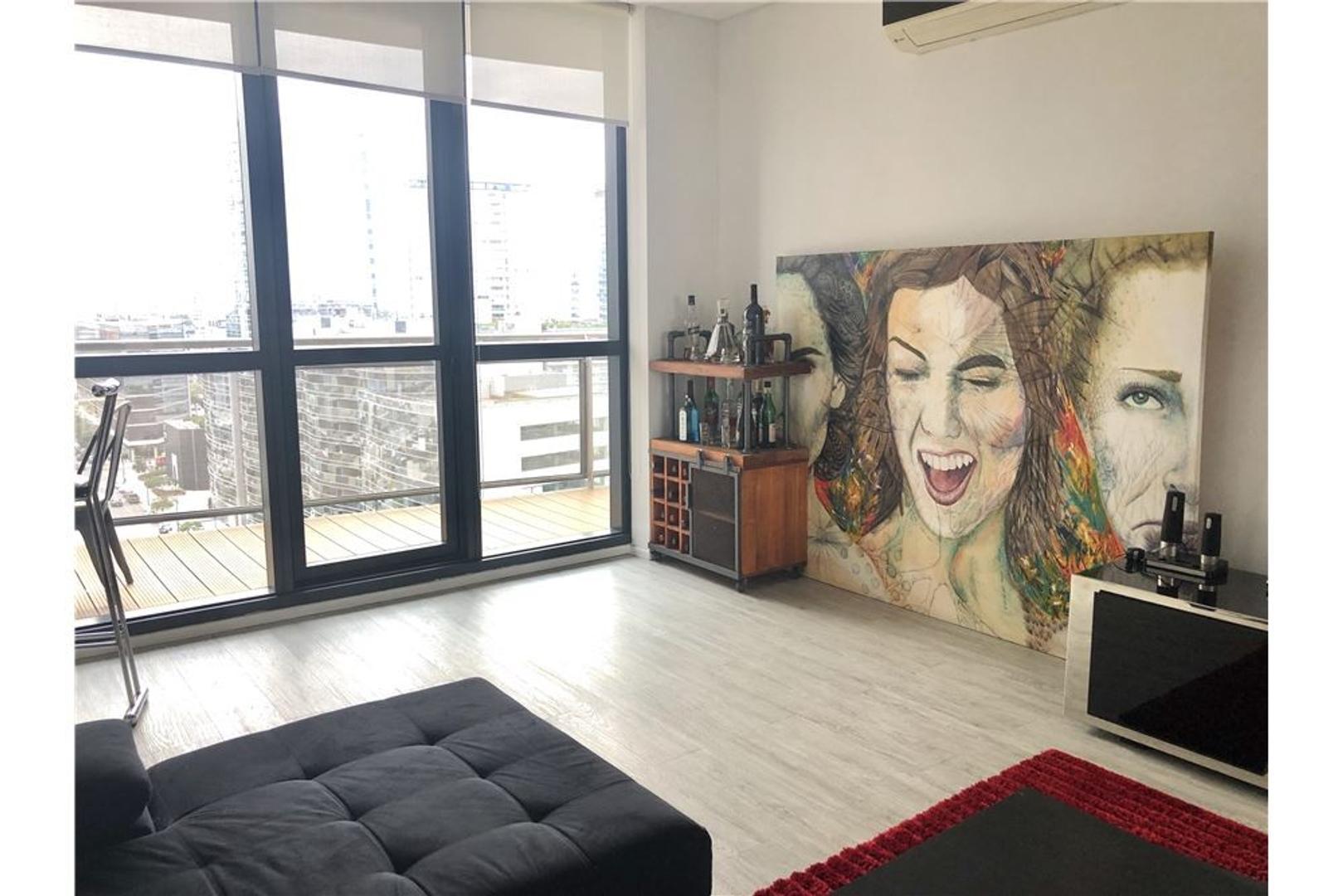 Departamento en Puerto Madero con 2 habitaciones