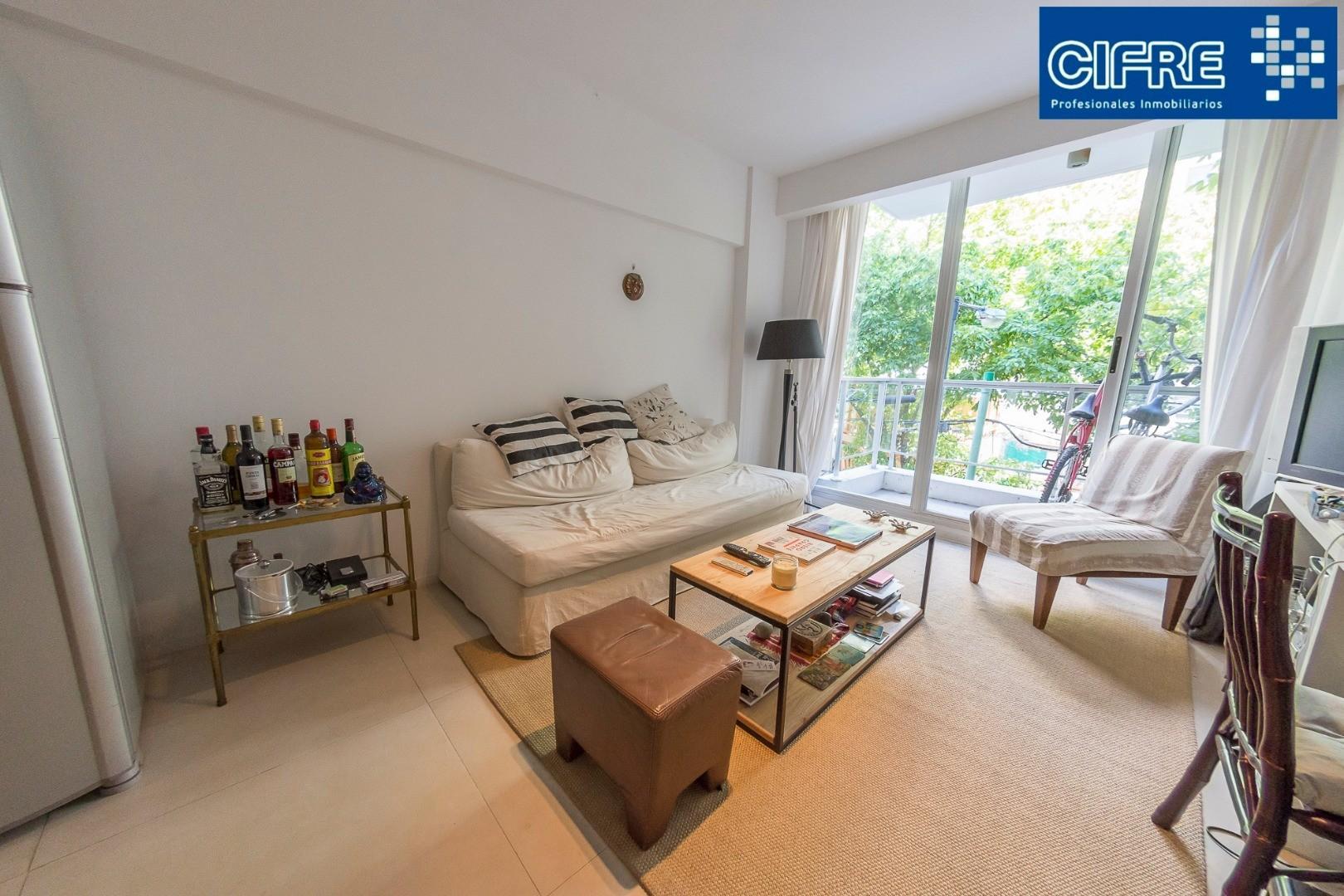Departamento de 2 ambientes al frente balcon y cochera - Suc Urquiza - 4521-3333