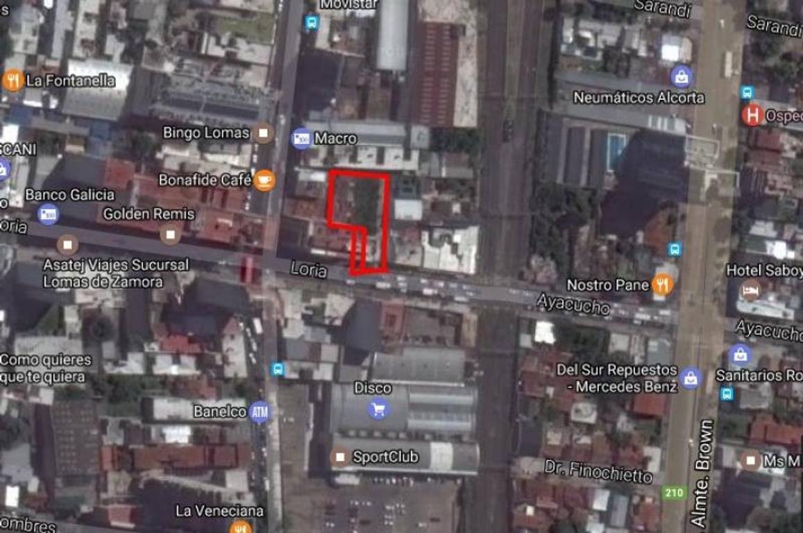 Las Lomitas Lote 590 Metros Edificable Zona R1