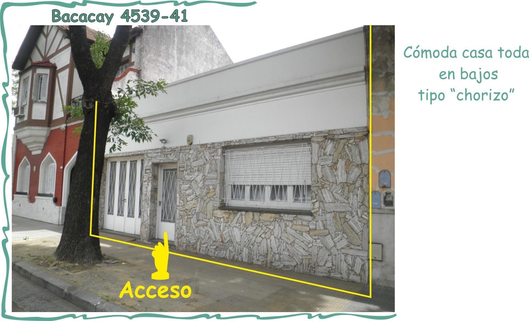 """"""" TIENE CON QUE""""  caserón  todo en bajos con generoso patio + tza + garaje ENTORNO RESIDENCIAL"""