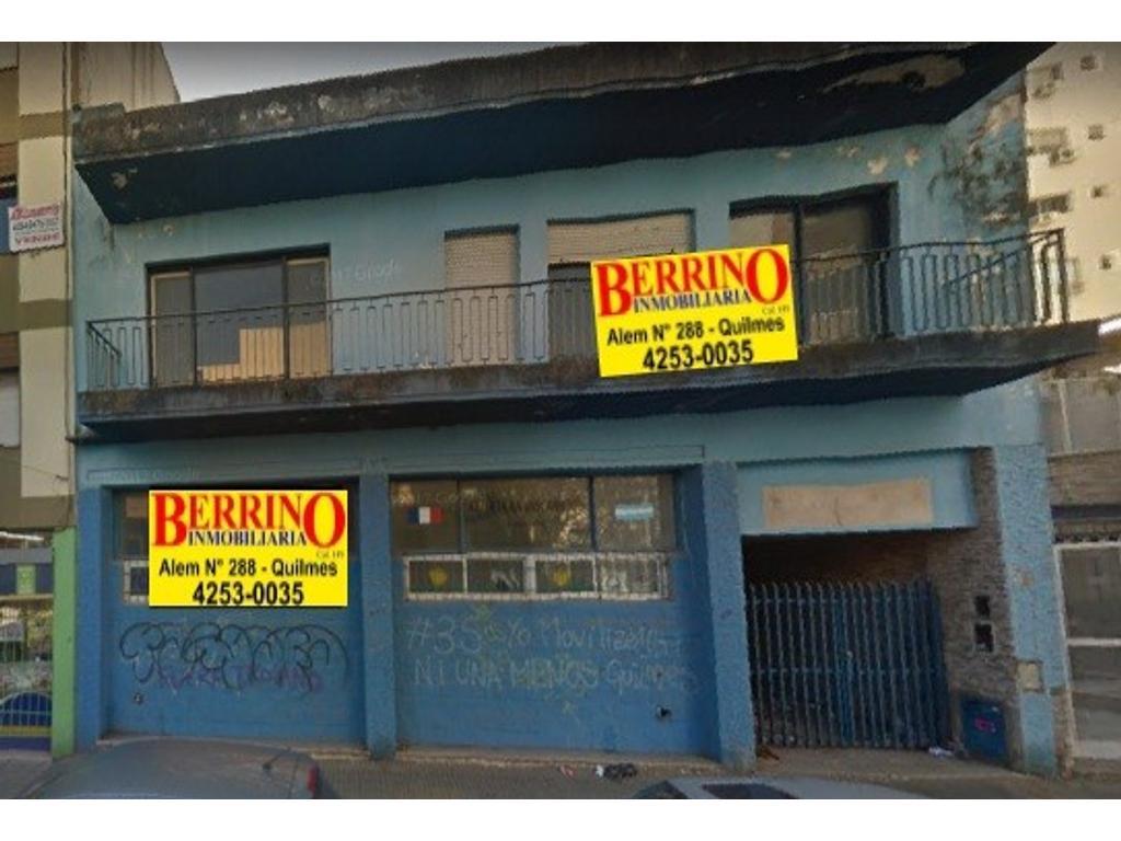 Lote - Ideal Edificio -  Av. Mitre 412/16 e/Colón y 9 de Julio, Quilmes Centro
