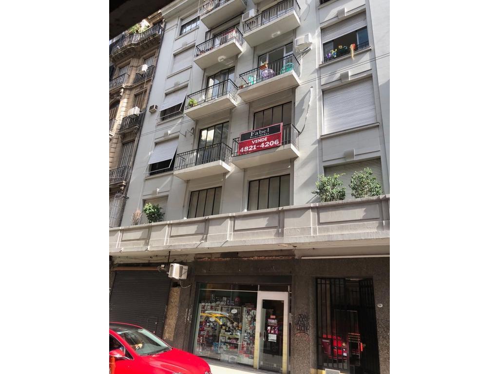 Centro 3 ambientes al frente con balcon todo a nuevo!! Ideal Escribania o Vivienda. Mts Teatro Colon