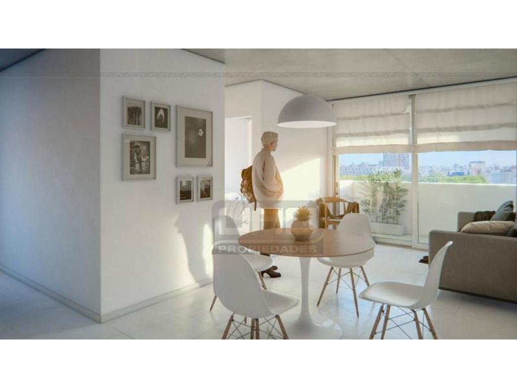 Ovidio Lagos y San Lorenzo - Amplio Dpto de 1 Dormitorio Externo. Posibilidad cochera. Vende Uno Pr