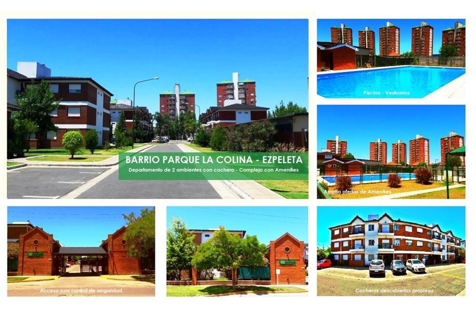 Barrio Parque La Colina - Departamento 2 ambientes