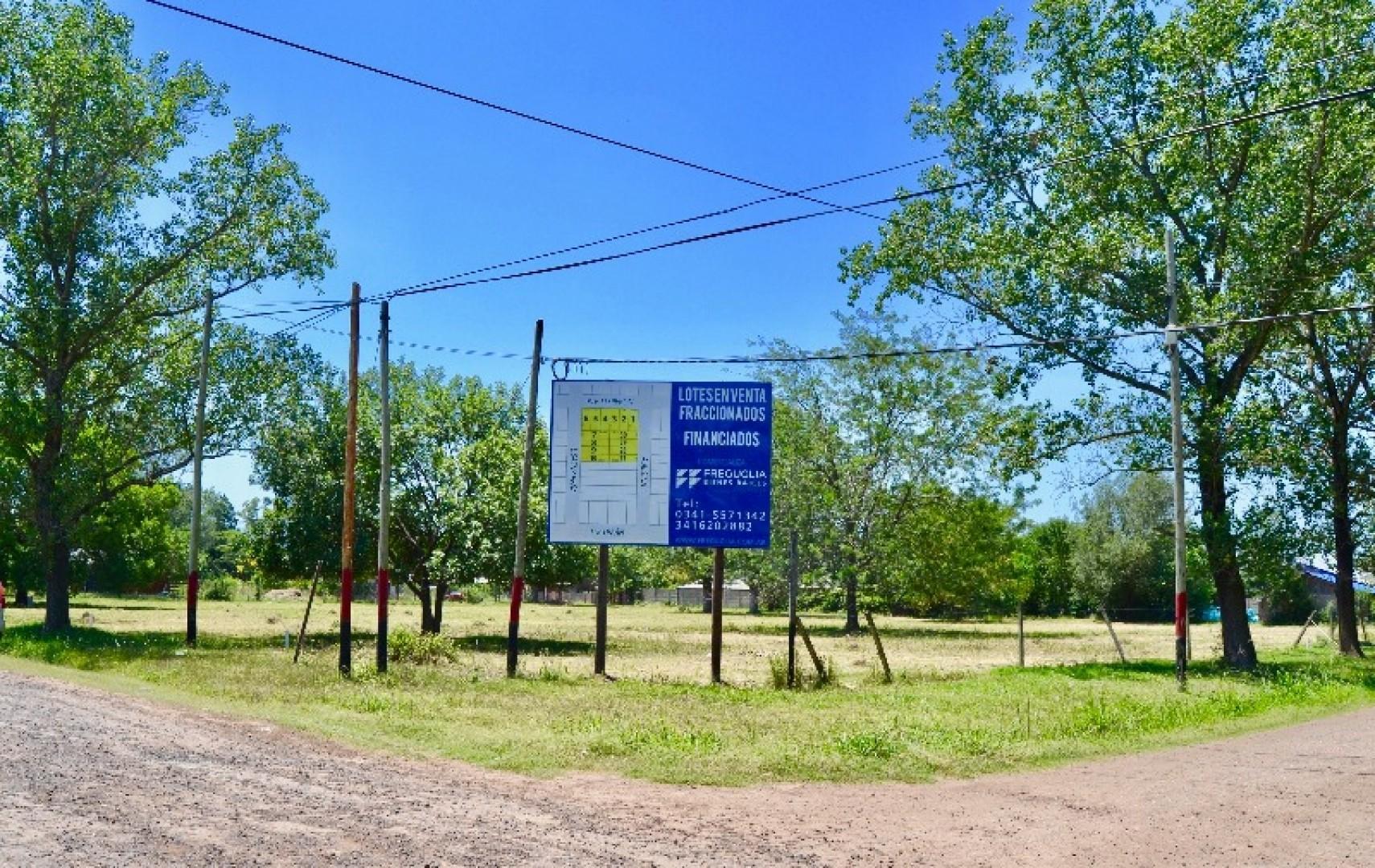 Venta de lotes financiado en Funes