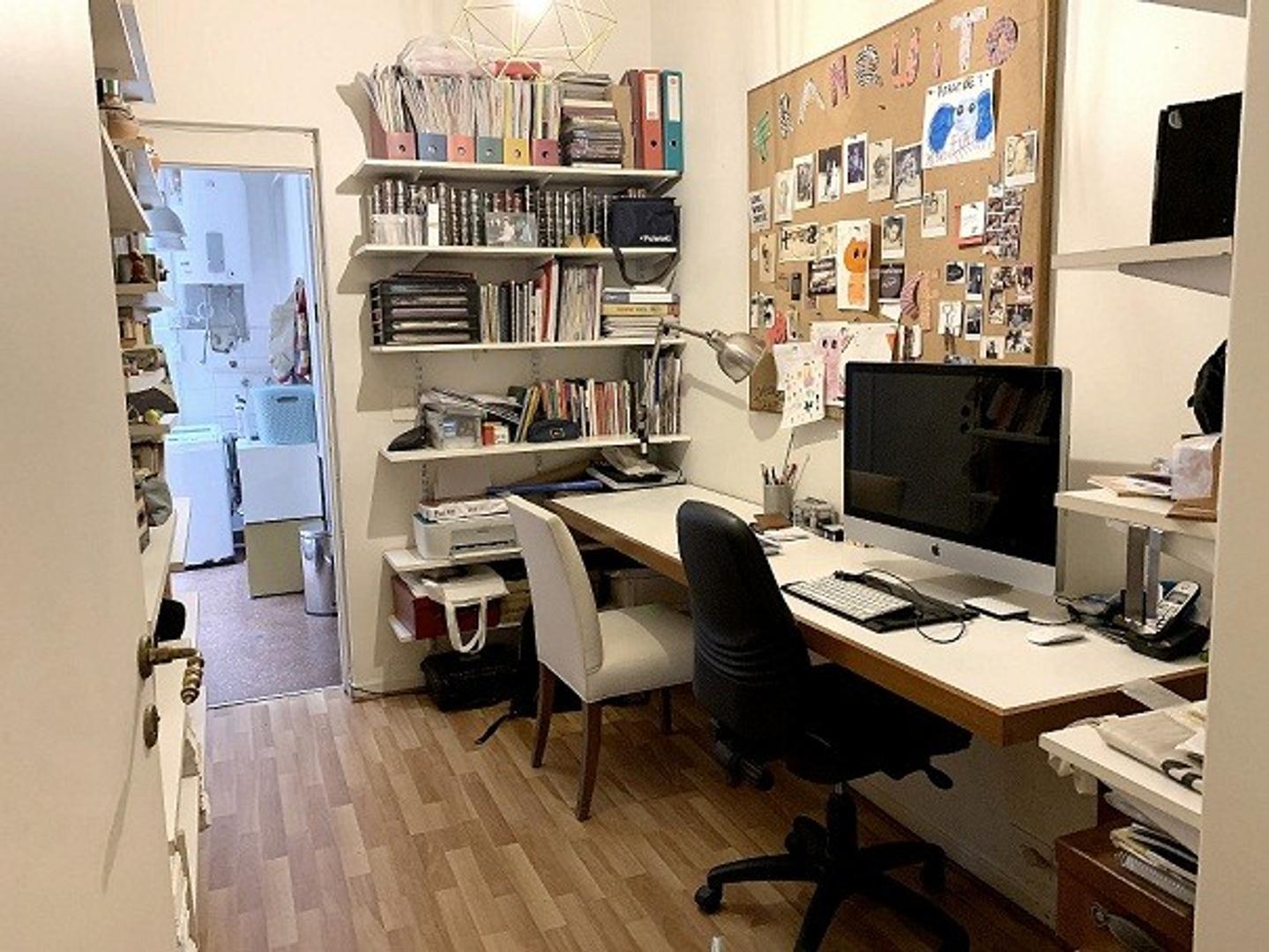 Departamento en Recoleta con 3 habitaciones