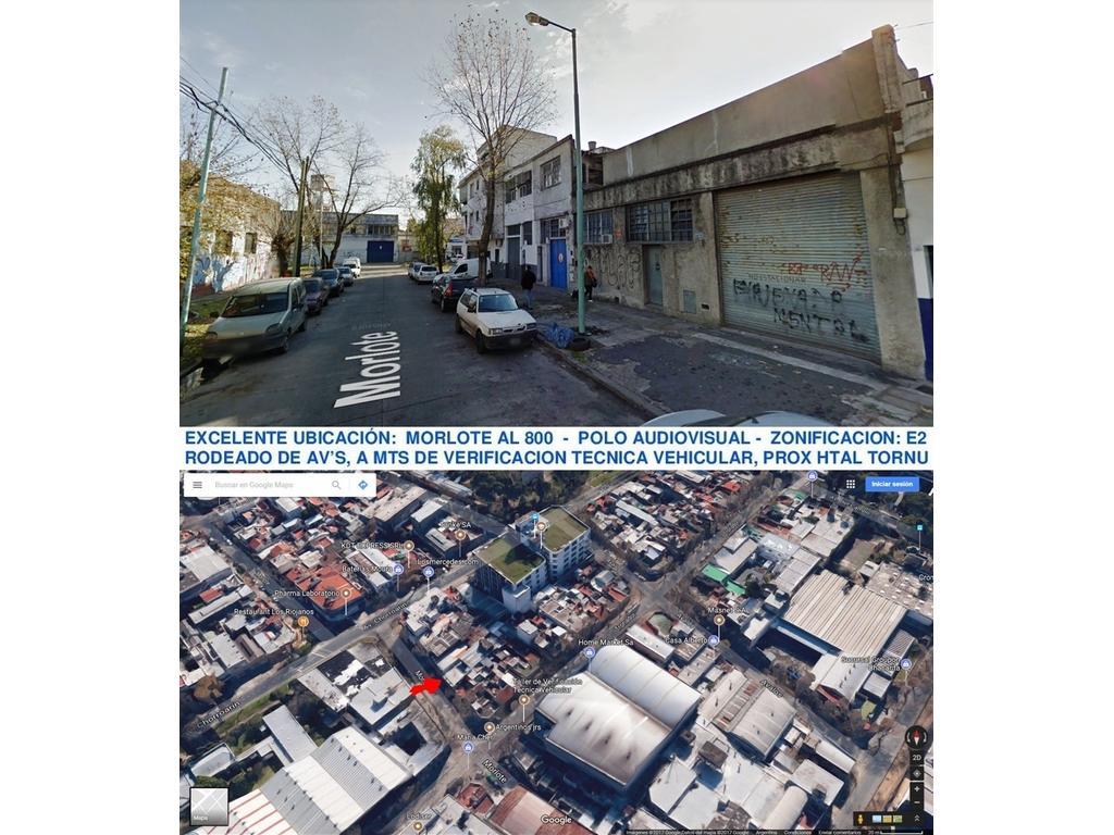 POLO AUDIOVISUAL BLOCK 2 GALPONES + DEPTO/OFICINA TOT 1.042M2 S/LOTE DOBLE FRENTE 17,63X30