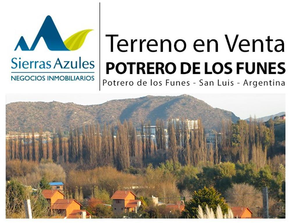 Terreno en venta en Potrero de los Funes. San Luis-Argentina