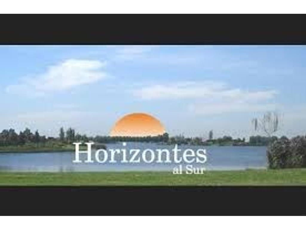 Lote en HORIZONTES AL SUR