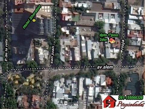 CAPITAL: DPTO 2DOR EN PRIMER PISO, CALLE RIOJA Y ALEM (CERCA DE TODO)