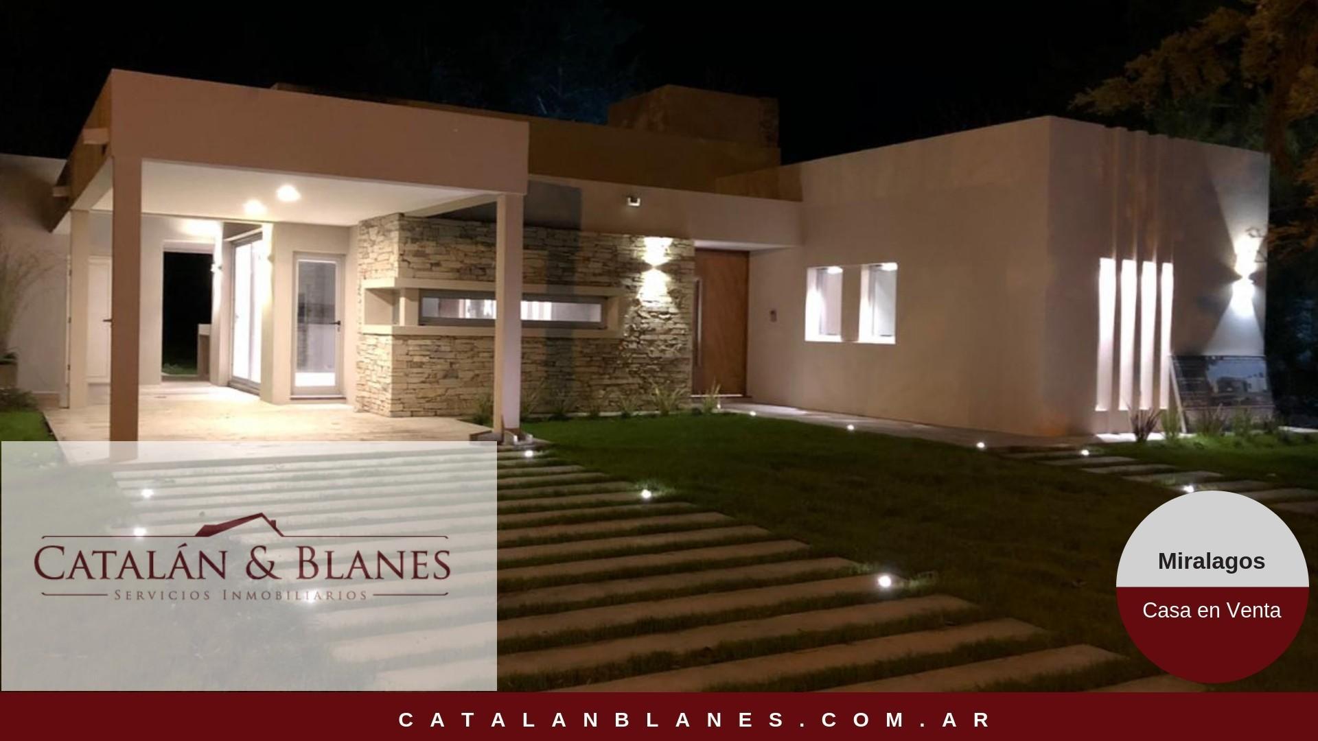 Casa en Venta en Club Miralagos - 4 ambientes