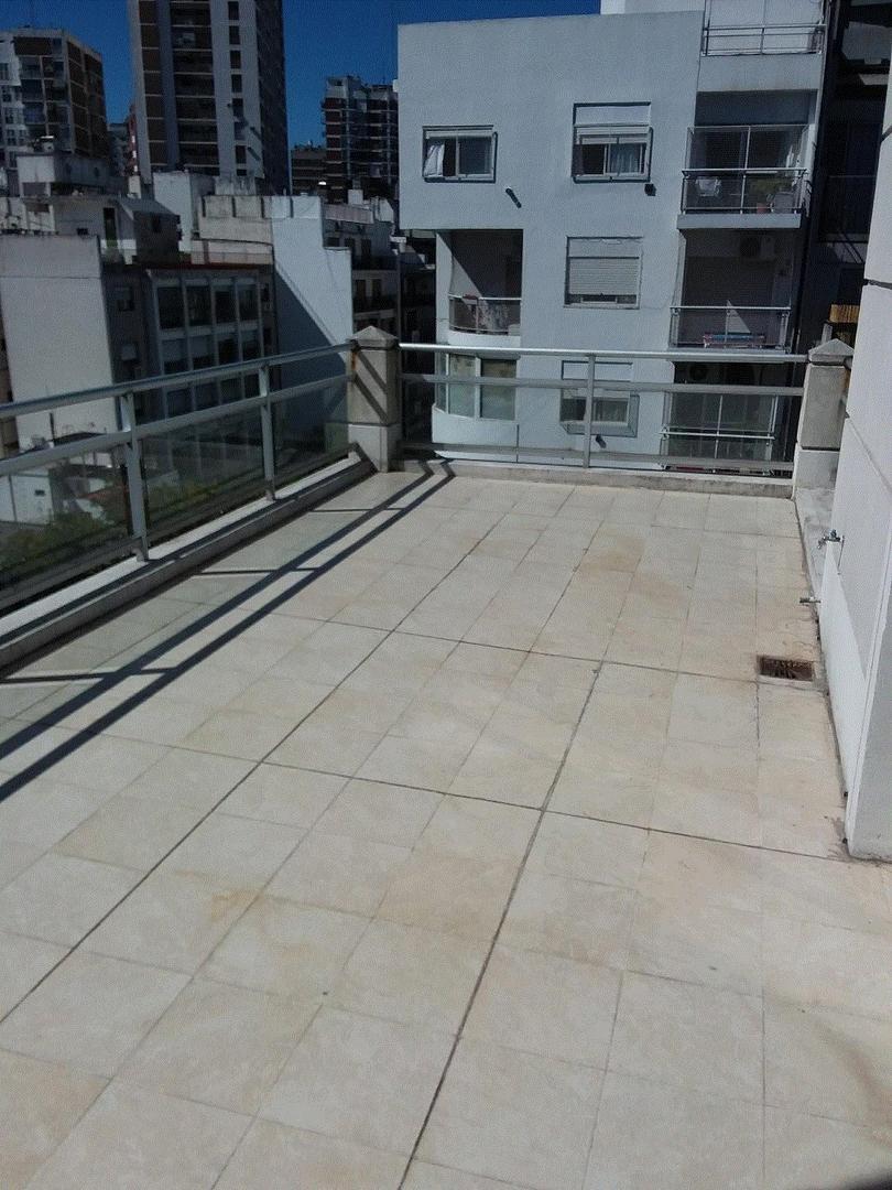 Departamento con terraza vista abierta PILETA Y SOLARIUM