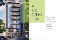 Pisos de 56 m2 de un dormitorio a estrenar de gran categoría con amenities