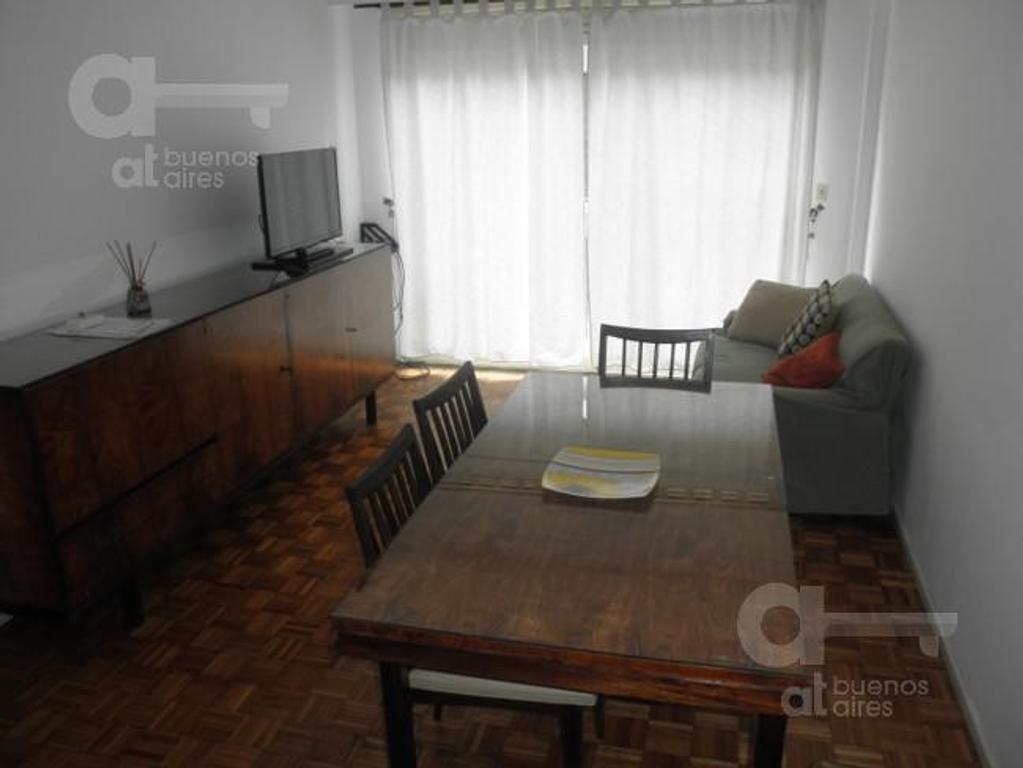 Centro, 2 ambientes, alquiler temporario sin garantía