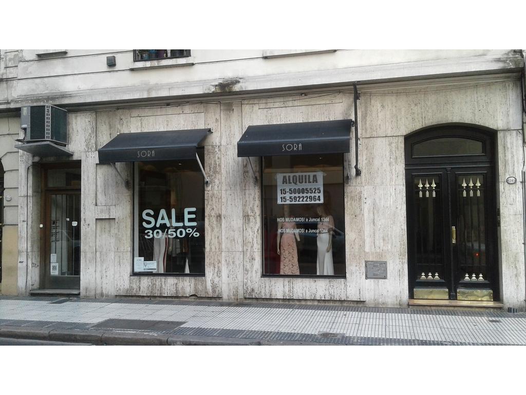 MONTEVIDEO CASI SANTA FE. DUEÑO ALQUILA EXCELENTE LOCAL IDEAL CONFITERIA/CAFETERIA/COMIDA LIGERA