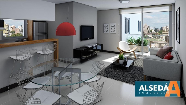 Departamento en construcción de 2 dormitorios Paraguay 2172