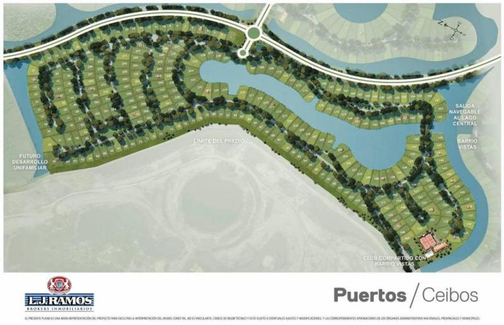 PUERTOS - BARRIO CEIBOS - RAMAL ESCOBAR KM 45 - LOTE 282 - 100
