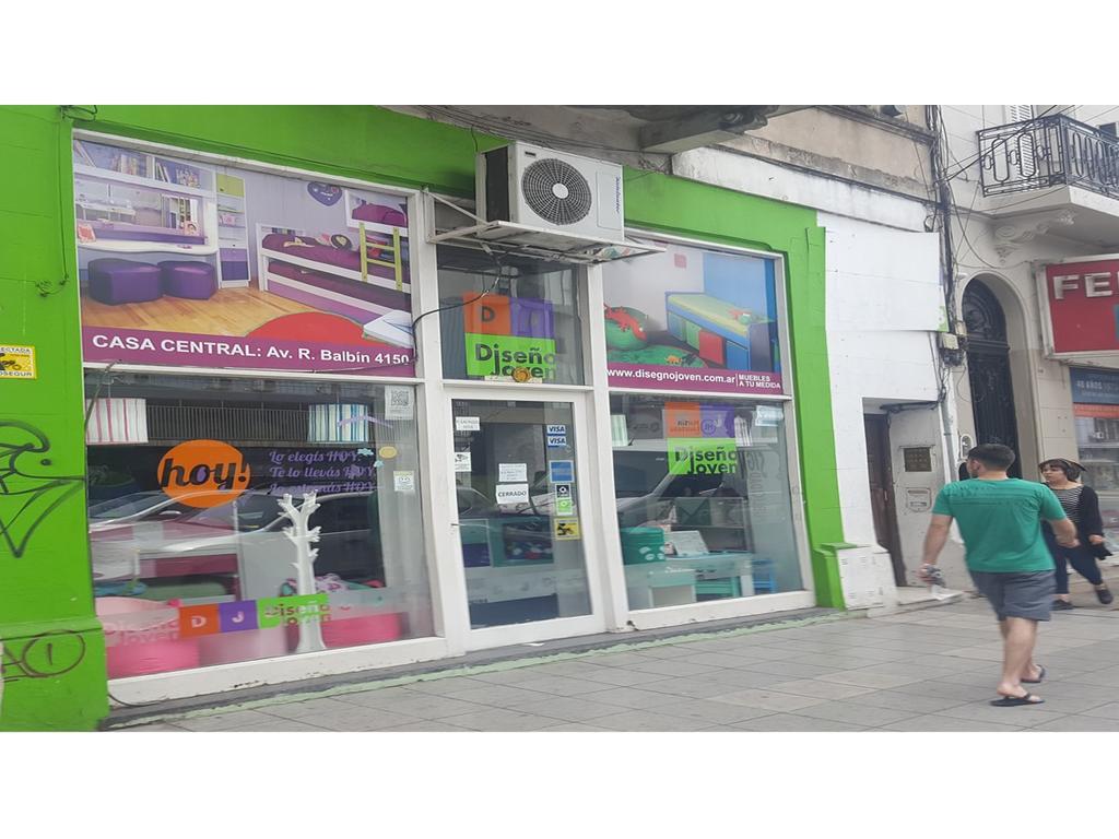 Colegiales - Alquiler Local Doble Altura - Frente vidriado 6 m - Zona comercial de alto transito !!!