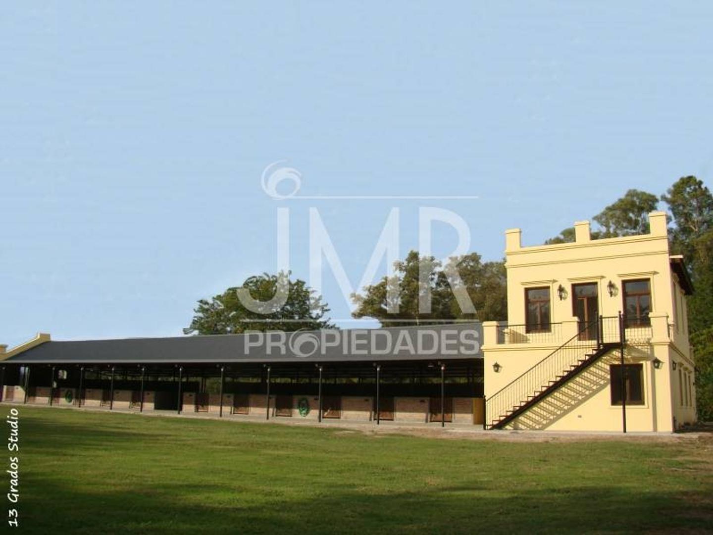 JMR Propiedades   Alquiler Anual Espectacular Campo de Polo Ruta 28