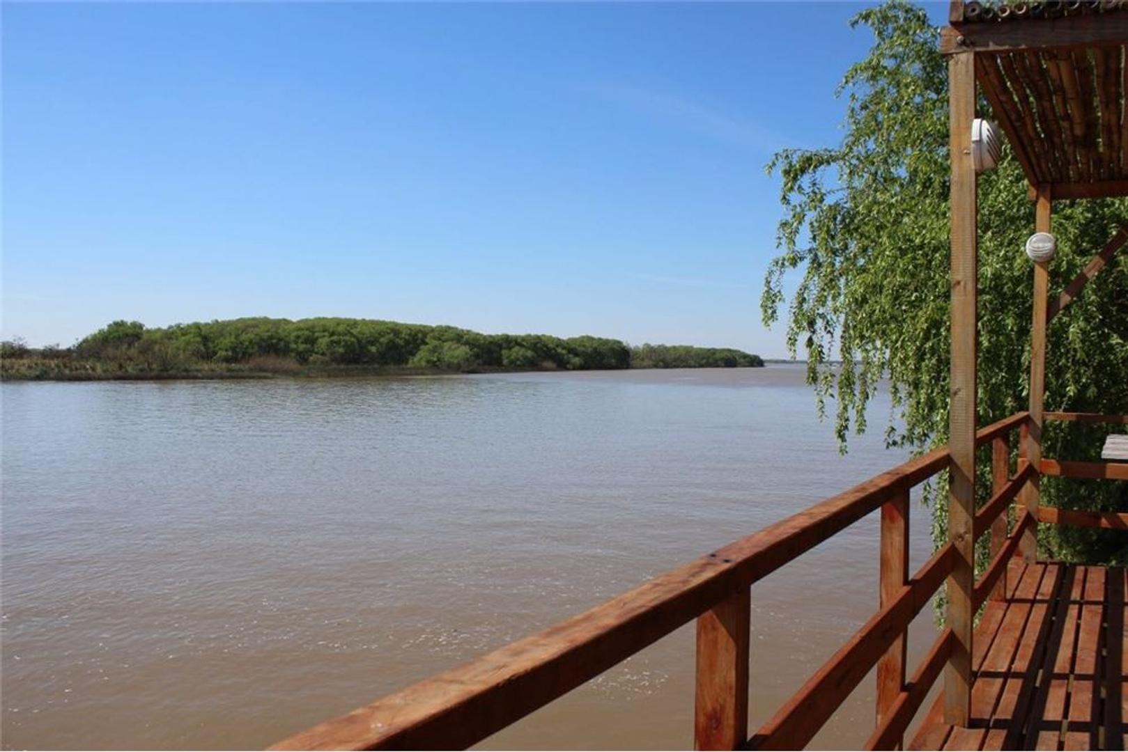 Venta casa rio Paraná - Delta Tigre Financia
