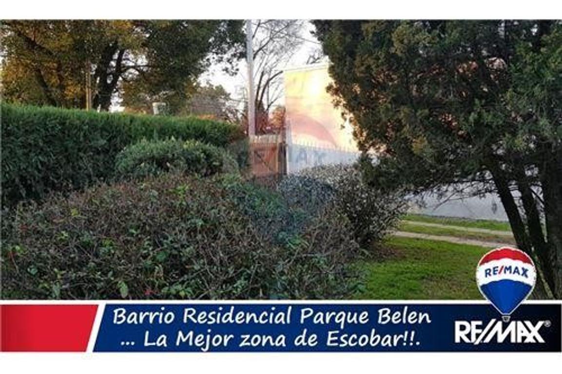 Parque Belen  Escobar Terreno en venta (escritura)